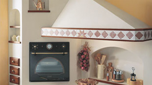 Cappe da cucina lavori in muratura e creazioni in mialite bigiesse - Cappe per cucine in muratura ...
